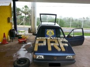 PRF apreende homem com 25 quilos de cocaína em Corumbá
