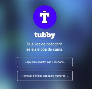 Aplicativo para homens avaliarem moças, Tubby adia lançamento
