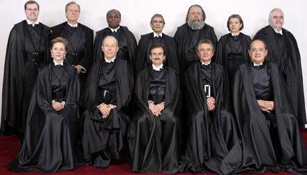 Ministros do STF começam ano com aumento de R$ 1,4 mil
