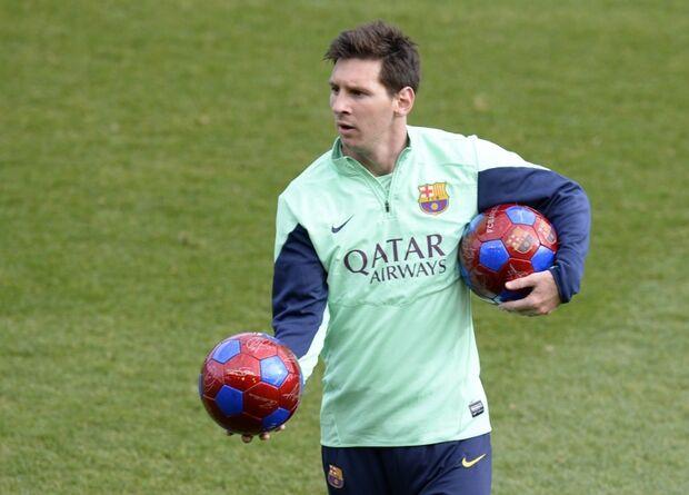 Técnico do Barcelona diz que Messi pode voltar ao time no próximo jogo
