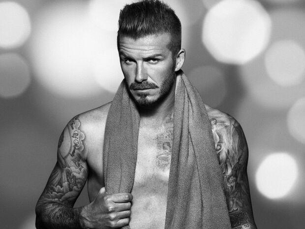 Beckham diz não se arrepender de posar seminu e poderia fazer de novo