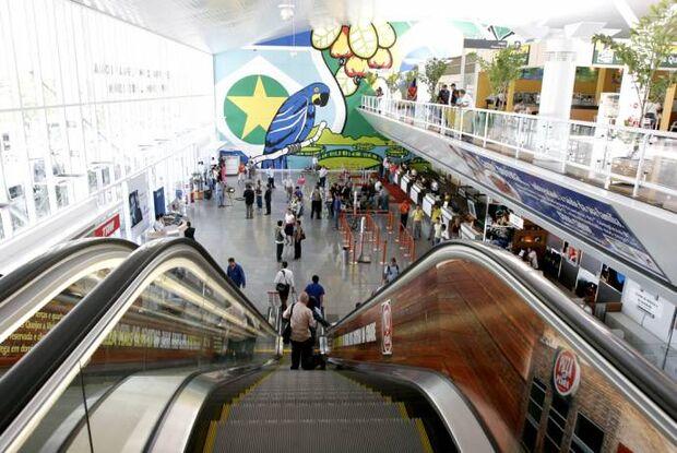 Aeroporto Internacional Marechal Rondon é avaliado como o segundo pior do Brasil