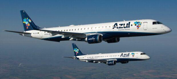 Azul Linhas Aéreas adia para dezembro início de voos entre Três Lagoas e Campinas