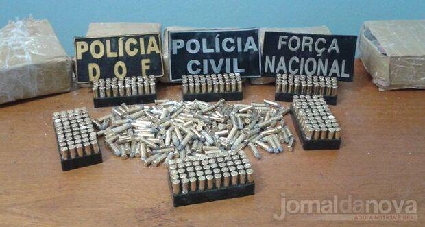 Homem é preso contrabandeando 4.200 munições em Maracaju