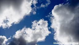 Céu com sol e tempo firme na Capital nesta quinta-feira