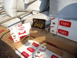 DOF apreende carga de cigarros contrabandeados com douradenses