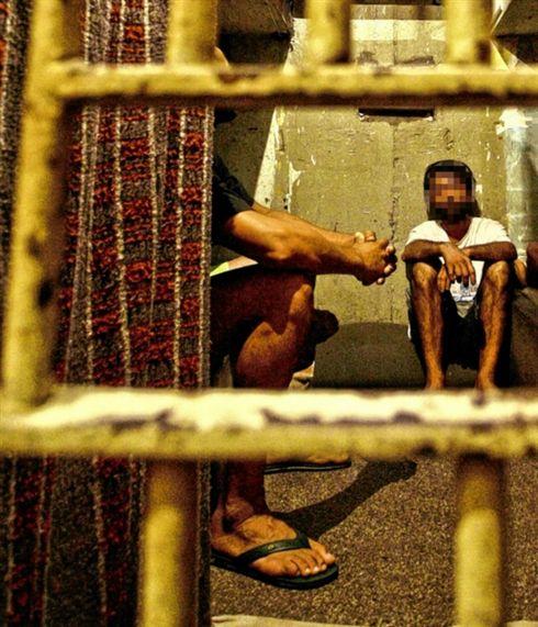 Assaltante é preso pela polícia e ganha rejeição de outros carcerários em Caarapó