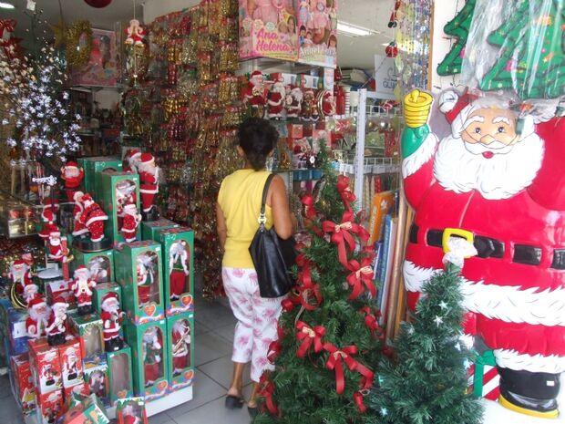Confederação dos lojistas estima que este Natal será o melhor dos últimos dois anos