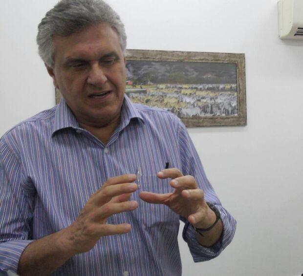 Ronaldo Caiado cogita aceitar convite para ser candidato do DEM à Presidência