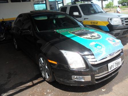 Homem é preso por receptação de carro roubado