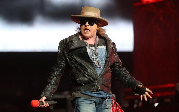 Guns N Roses volta ao Brasil para shows em sete capitais