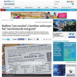 Pudim com coca do Carrefour argentino causa furor nas redes sociais