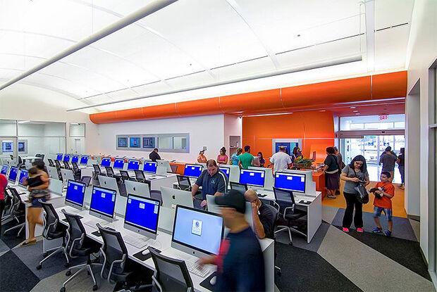 Primeira biblioteca do mundo toda digital é aberta nos EUA
