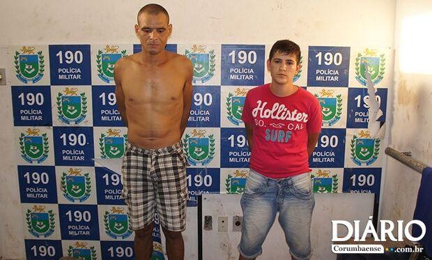 Presos homens que assaltaram escritório de Contabilidade em Corumbá