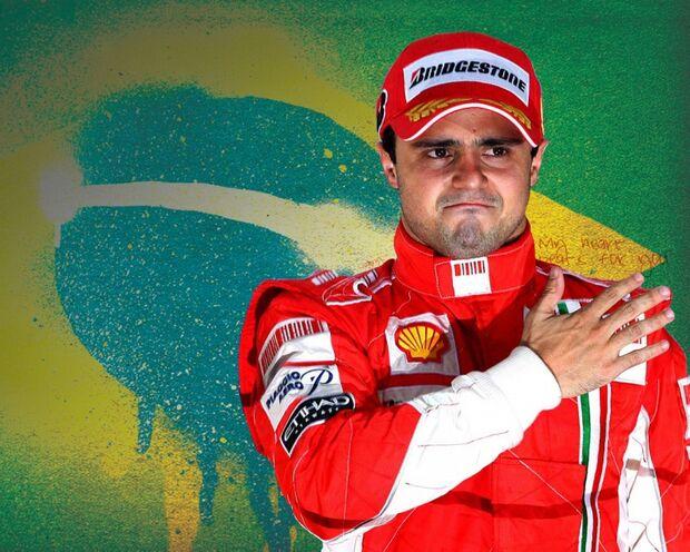 Massa se despedirá de fãs da Ferrari no domingo