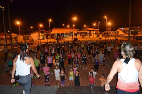 Aulas de ginástica na Praça do Papa voltam quarta-feira que vem