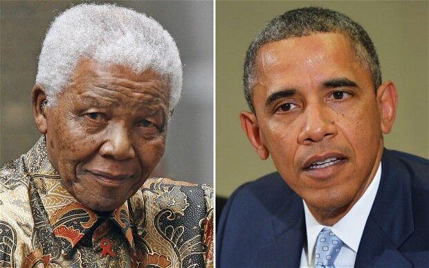 Obama dá condolências a viúva de Mandela em telefonema