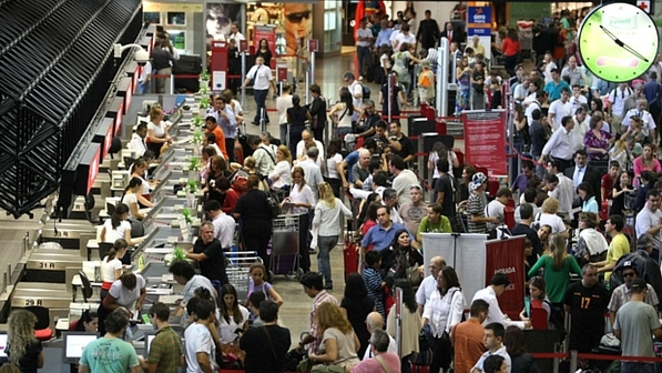 Voos da Gol sofrem atrasos em aeroportos do país