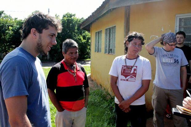 Voluntários de Brasília percorrem aldeias indígenas de MS