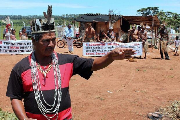 Indígenas da aldeia Água Bonita esperam decisão da Funai para terem melhores condições de moradia