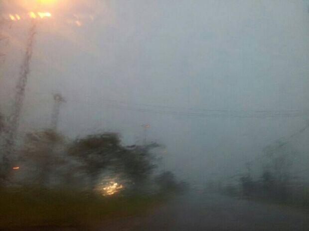 Meteorologia prevê chuva forte em todo Estado até domingo