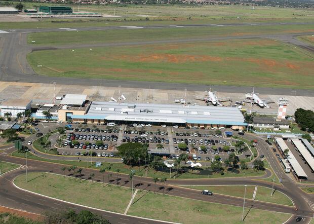 Aeroporto de Campo Grande opera sem restrições neste sábado