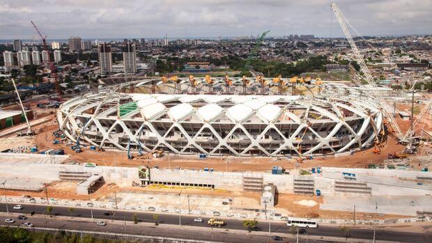Outro operário morre em acidente com guindaste na Arena da Amazônia