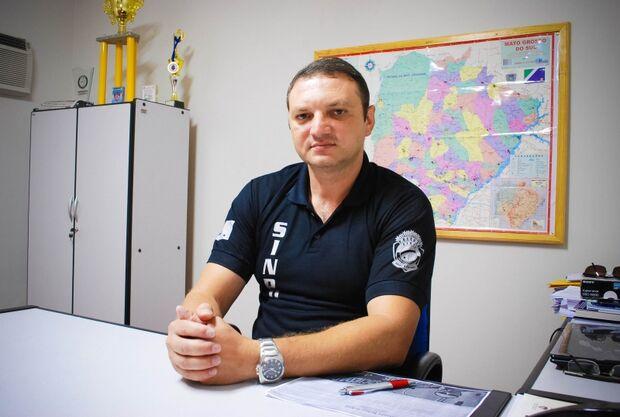 Presidente do Sinpol/MS expõe realidade dos policiais civis e diz que a instituição está de luto