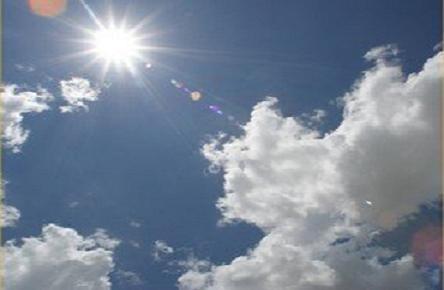 Sem previsão de chuva, céu amanhece aberto neste sábado