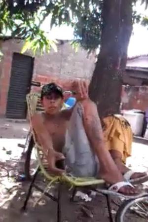 Jovem ameaça polícia em vídeo e acaba preso