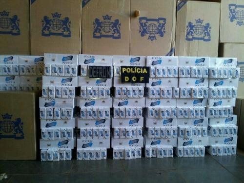 DOF apreende 1.650 pacotes de cigarros na BR-463