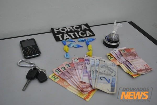 Dupla é presa acusada de tráfico de drogas em Dourados