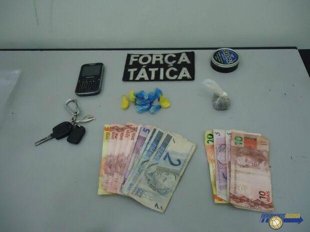Dois são presos por tráfico de drogas em Dourados