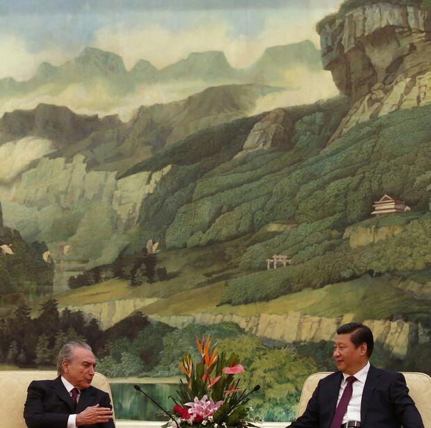 China quer financiar projetos no Brasil em troca de produtos nacionais