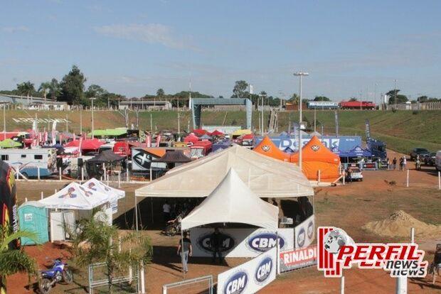Três Lagoas vai sediar 3ª etapa do Campeonato brasileiro de Motocross