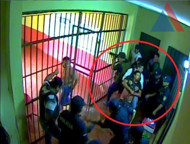 Divulgado vídeo de assassinato dentro da penitenciária em Pedro Juan Caballero