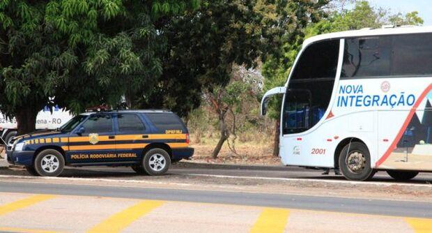 Jovem é preso com 100 gramas de cocaína em ônibus