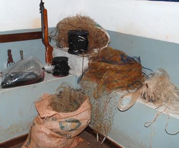 Dois pescadores são presos em flagrante em Fátima do Sul