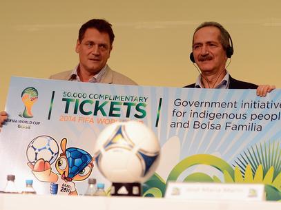 Segunda fase da venda de ingressos da Copa de 2014 começa segunda-feira