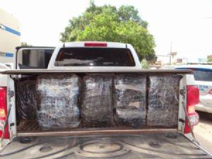 Polícia apreende mais de uma tonelada de maconha em Coronel Sapucaia