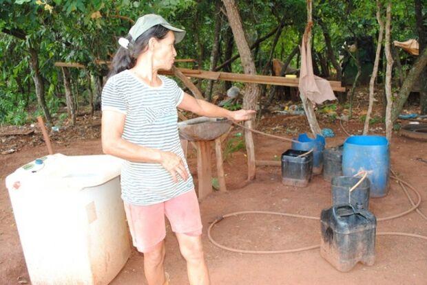 Sem acesso à água, produtores rurais reivindicam novos poços em Assentamento