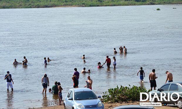 Bombeiros de Corumbá dão dicas para evitar afogamentos
