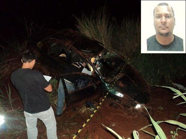 Homem morre depois de capotar veículo na BR-163
