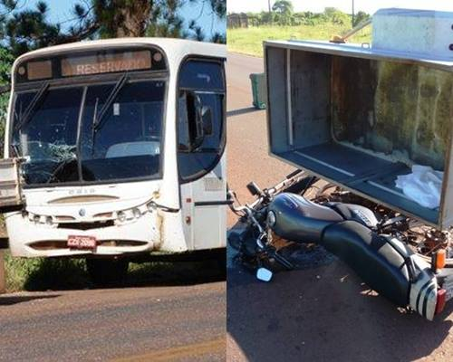 Acidentes simultâneos deixam duas pessoas feridas no interior