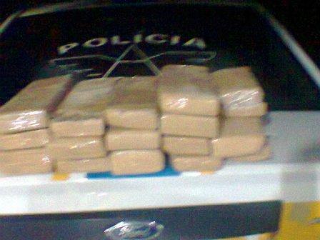 Polícia Militar Rodoviária apreende 30 kg de maconha