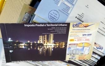 Carnês do IPTU serão entregues a partir do dia 2 de janeiro