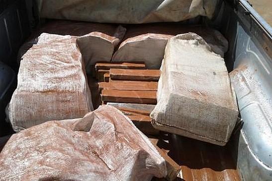 Homem é preso com 150 quilos de maconha no centro de Naviraí
