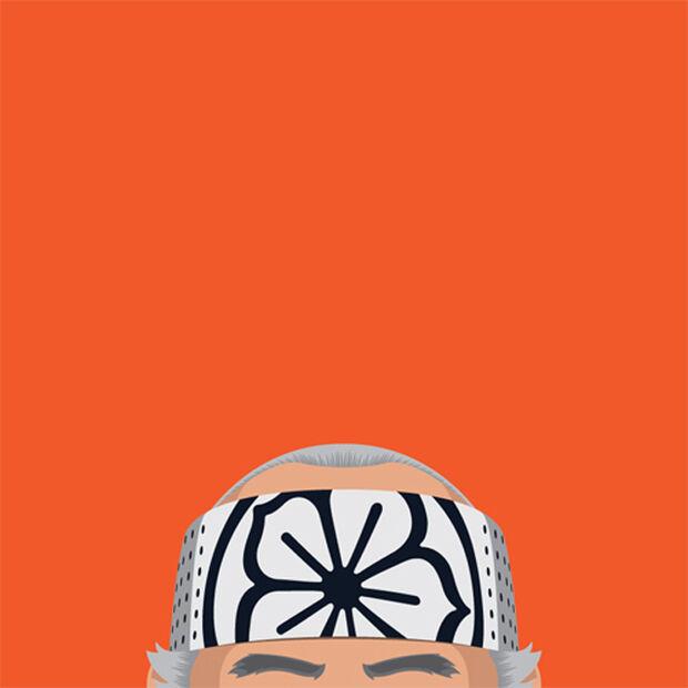 Diretor de arte brasileiro ilustra cabeça careca de personagens famosos