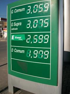 Agência Internacional confirma reajuste da gasolina em 8% até 21 de outubro