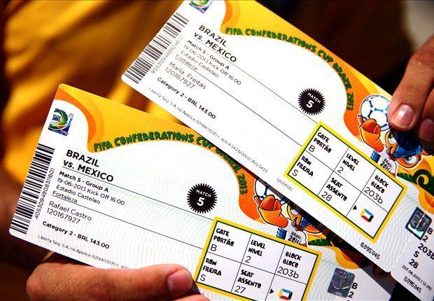 Mais de 70% dos pedidos de ingresso da Copa de 2014 são do Brasil